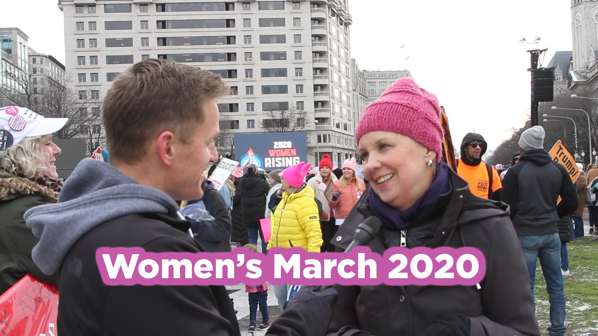 How Does the Women's March Define What a Woman Is?